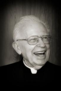 Happy priest.