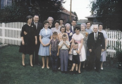 1950s Foy family Toronto