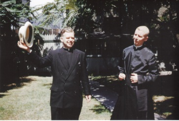1950s with Fr. Mott, St. Michael's Cathedral