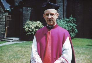 1954 or so Msgr. Kyte Rector of St. Michael's Cathedral