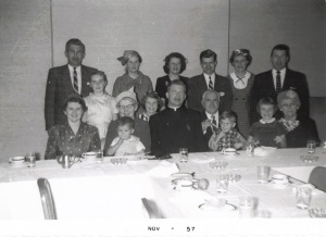 1957 with my family