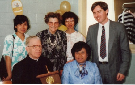 1989 Award - %22Most Conscientious Legion of Mary Director We Have Ever Known%22, 50 years ordained, age 74