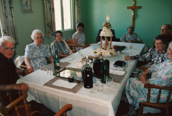 1989 Visiting Fr Loftus in Fort Erie