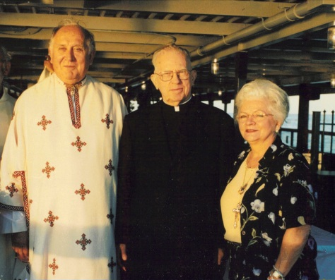 1998 Cruise in Honour of Our Blessed Mother's Birthday and my birthday with Bishop Danylak and Carmelle Harrison