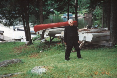 2001 on vacation visiting with priests in Combermere area