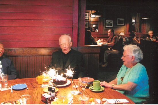 2005 - 90th Birthday party