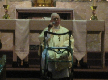 2009 Giving address at my 70th Ordination Anniversary