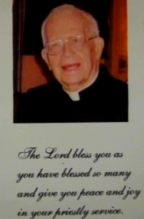2009 Homemade Ordination Anniversary card