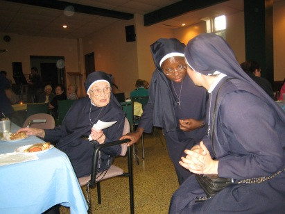 2009 Sisters of Our Lady Immaculate at 70th Ordination Anniversary