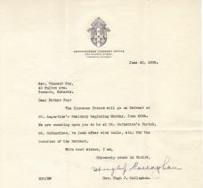 1939 June Letter Fr Callahan
