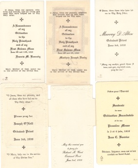 1939 Odination cards side B
