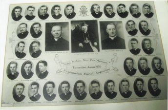 1939 Ordination Class, back right