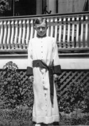Edward Foy as choir boy