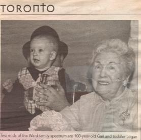Gail Ward's 100th Birthday