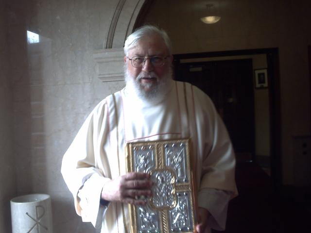 Msgr 70th Ordination Ann 2009 Dcn Dauvin